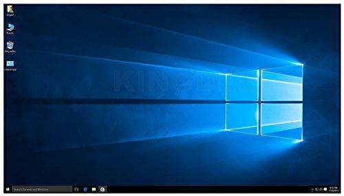KINGDEL 4K HTPC, Intel i5-4200U Haswell CPU NUC, Windows 10 Nettop, 8GB RAM, 256GB SSD, intel HD4400 Graphics, 4USB 3.0, HDMI, WiFi, Fanless by KINGDEL (Image #4)