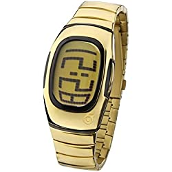 ZERONE Illusions All IP Gold Digital Watch
