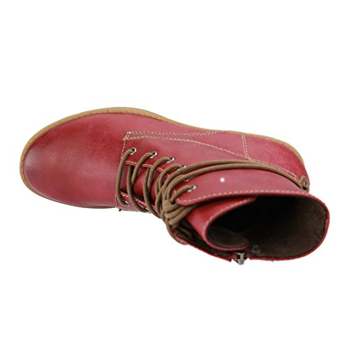 Tamaris 1-1-25223, Botas Chukka para Mujer, 36 EU Rojo