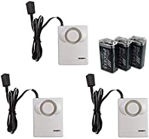 Instapark IN07A Battery Powered Water Leakage Detection Alarm and Sensor, Low Battery Alert