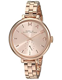 Marc Jacobs Marc by Women's MBM3364 Sally Rose Gold-Tone Stainless Steel Bracelet Watch