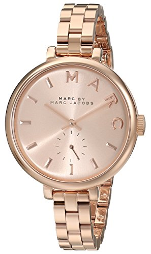 Marc by Marc Jacobs Women's MBM3364 Sally Rose Gold-Tone Stainless Steel Bracelet Watch