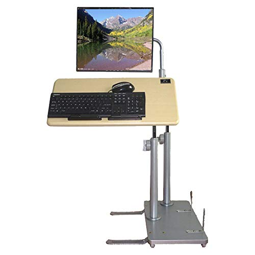 - GUI Lazy Table-Folding Table Household Lift Tables Computer Desk Lazy Moving The Lifting Bracket