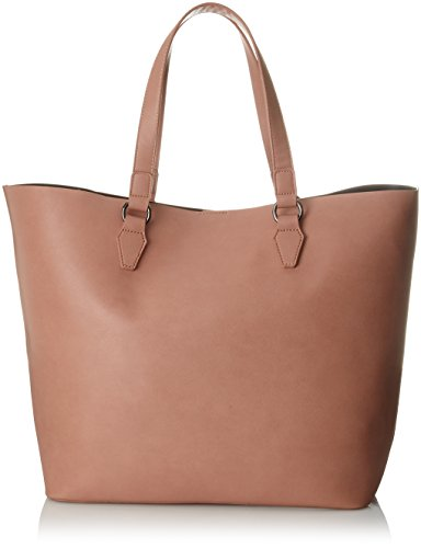 PIECES 17087750, Borsa Donna Bianco Sporco (Brick Dust)