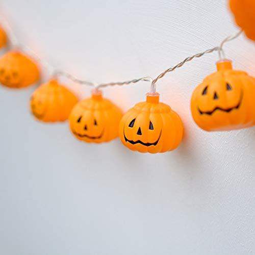 3m 20-LED Pumpkin Lamp String Lights - SHUDAGE Halloween Flashing Copper Wire Room Decorative Strip Lights Festival Decoration Lamp for Patio/Garden/Christmas/Wedding -