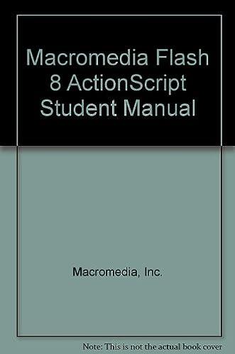macromedia flash 8 actionscript student manual inc macromedia rh amazon com manual de macromedia flash 8 aulaclic manual de uso de macromedia flash 8