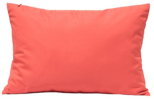 TangDepot Durable Faux Silk Solid Pillow Shams - (12