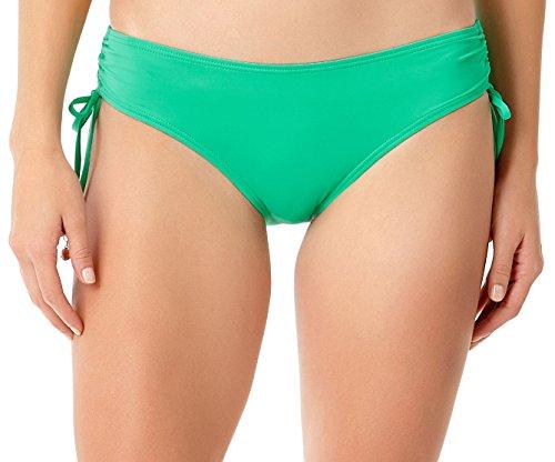 Anne Cole Women's Side Tie Adjustable Bikini Swim Bottom, Jade, L Anne Cole Bikini