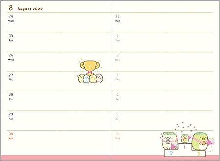Amazon.com: San-X 6613 Sumikko Gurashi - Agenda semanal con ...