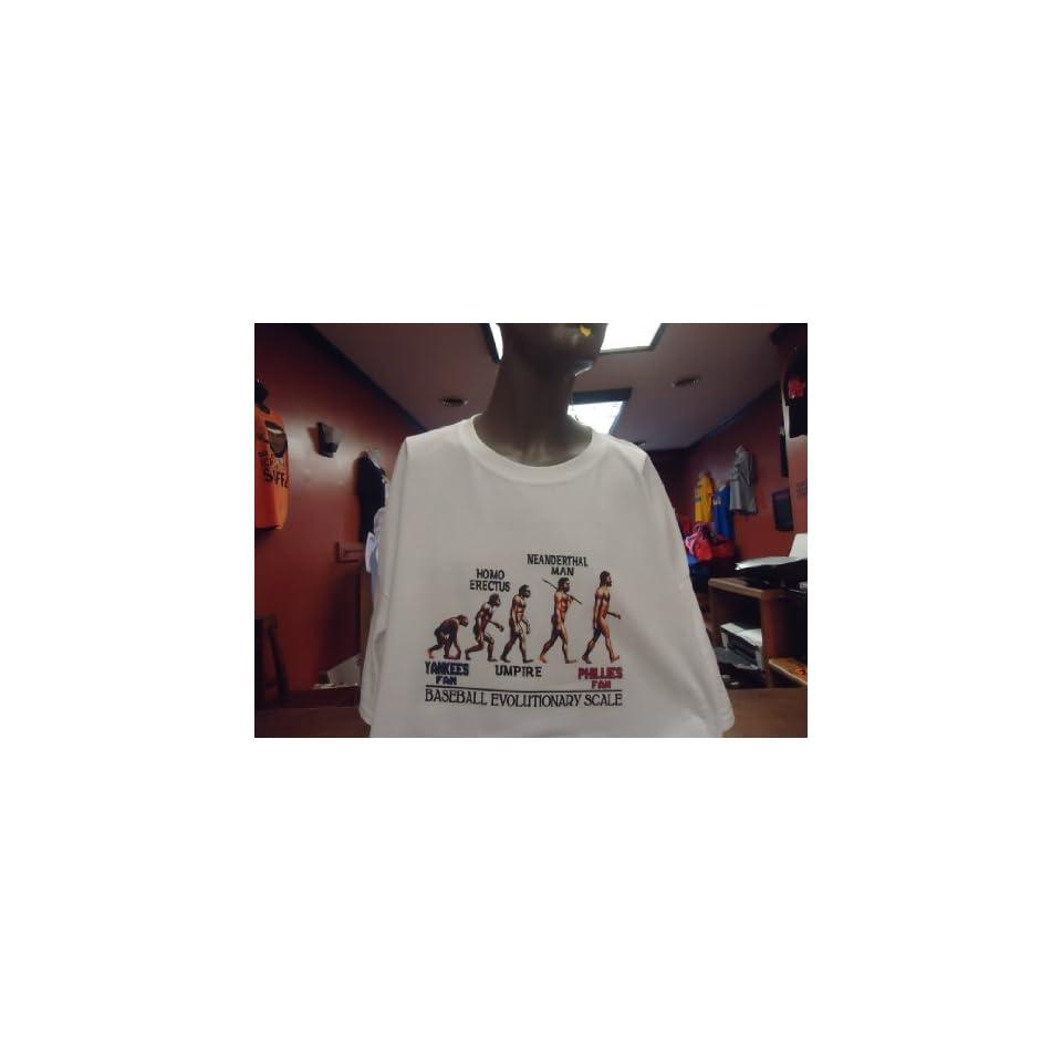 SCALE METS FAN ANTI YANKEES T SHIRT jersey (adult xl) Baby