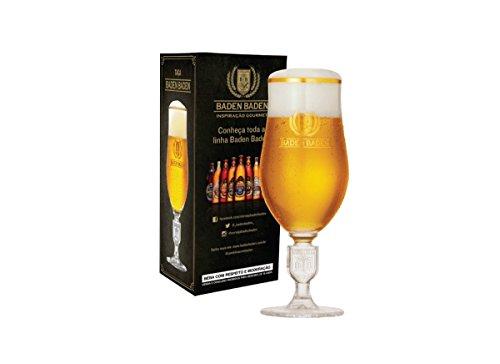 Taça Cerveja / Copo Cerveja - Baden Baden Brasão Relevo 370ml