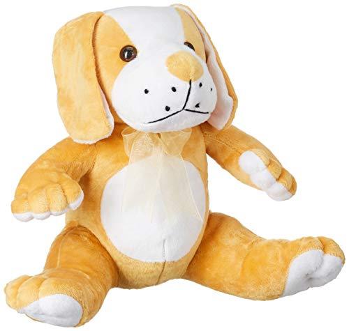 Webby Brown Soft Cute Sitting Dog Toy, 40cm