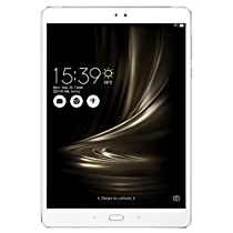 ASUS ZenPad 3S 10 Glacier Silver 9.7-inch Android Tablet [Z500M] 64GB Onboard Storage, 8MP Rear / 5MP front Dual Camera, 2K IPS TouchScreen, 6-core Processor, MicroSD, USB Type C