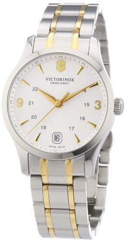 Victorinox Swiss Army Women's Alliance 241543 Two-Tone Stainless-Steel Swiss Quartz Watch with Silver Dial