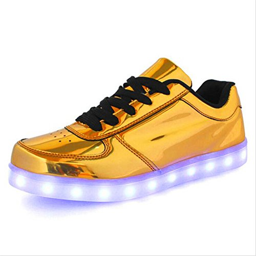 IGxx LED Light Up Shoes Light for Men High Top LED Sneakers USB Recharging Shoes LED Women Glowing Luminous Flashing Shoes Kids