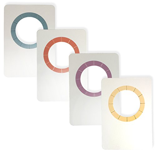 SOMM Wine Bottle Tags Paper - Wine Tags (4 Colors / 60 Count) by SOMM Wine Products
