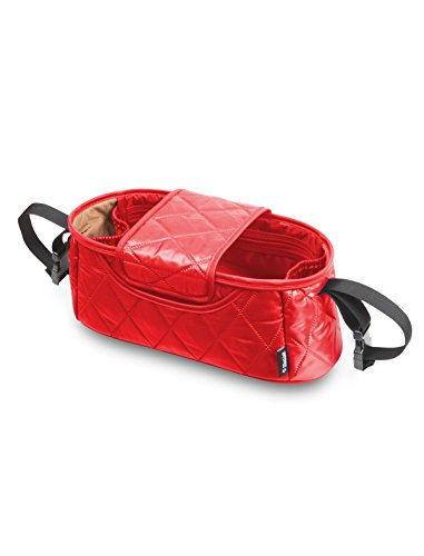 Manito Handy Stroller Organizer (Diamond Style) (Red)