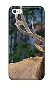 For DanRobertse Iphone Protective Case, High Quality For Case Samsung Note 3 Cover Nature Animal Feed Deer Green Grass Skin