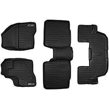 Smartliner Floor Mats  Row Liner Set Black For   Ford Explorer Without Nd