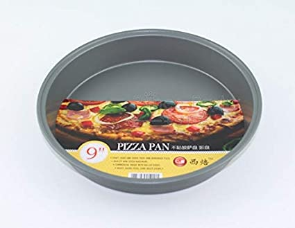 Amazon.com: Home – 1 pza de pizza redonda antiadherente para ...