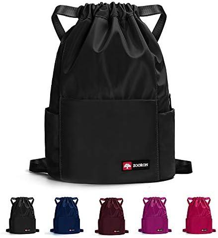ZOORON Waterproof Drawstring Backpack Daypack product image