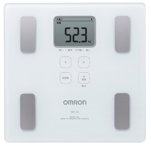 New Omron Weight Scale