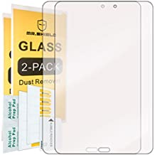 [2-PACK]-Mr Shield For Samsung Galaxy Tab E 8.0 [Tempered Glass] Screen Protector [0.3mm Ultra Thin 9H Hardness 2.5D Round Edge] with Lifetime Replacement Warranty