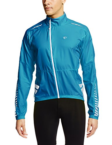 Pearl Izumi Elite Barrier - Pearl Izumi Men's Elite Barrier Jacket, Mykonos Blue, Medium