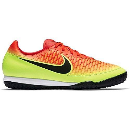 Nike Men's Magista Onda Turf Total Crimson/Black Volt/Bright Citrus Shoes - 8.5A (Soccer Cleats Ctr)