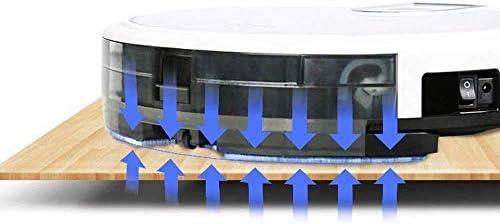CHUTD Aspirateur robotique, Robot de Balayage Intelligent, Nettoyage des Poils d\'animaux, Navigation Intelligente, Auto-Charge, Super Silencieux, aspirateur Ultra-Mince Domestique