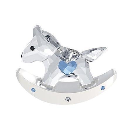 Cavallo A Dondolo Swarovski.Swarovski Cavallo A Dondolo Blu 1194059 Amazon It Casa E Cucina
