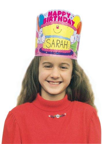 Price comparison product image Carson Dellosa Happy Birthday Crowns (0232)