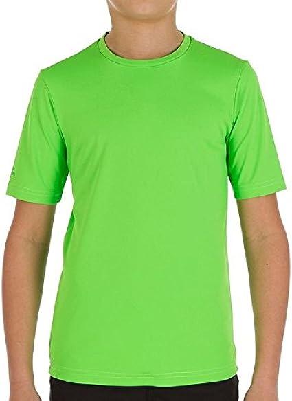 Agua ultravioleta Junior camiseta verde. profilter UPF 50 + ...