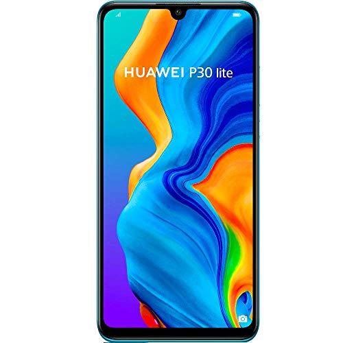 Huawei P30 Lite - Unlocked Phone 128 GB- (Peacock Blue) - Canadian Warranty - 51093NUW