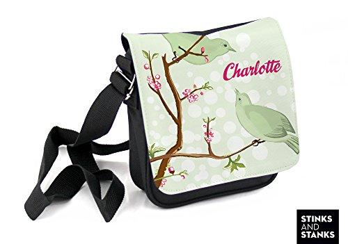 Borsa per bambini, borsa a tracolla per gli uccelli ramo HTS023