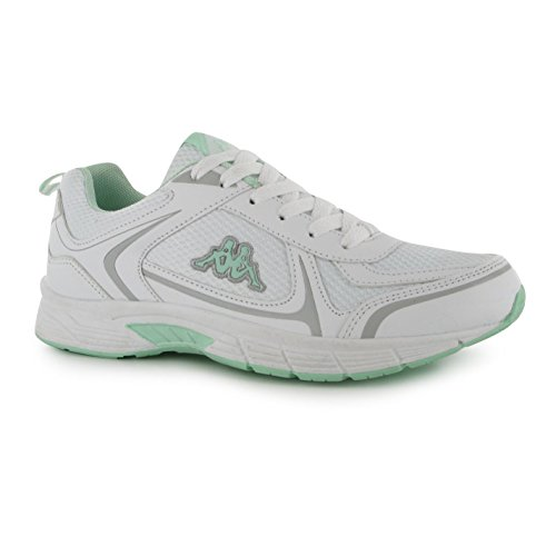 Kappa Alysia Run Trainer Damen weiß/mint Sneakers Sport Schuhe Schuhe
