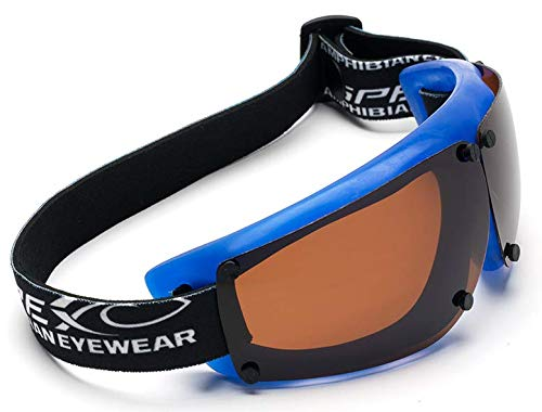 ecc90af8a8 Spex Amphibian Eyewear ROYAL with All WEATHER Polarized Lenses. Made in  USA. Float. 100% Uv Protection. SPEX are ideal for all water sports. Protect  2 of ...