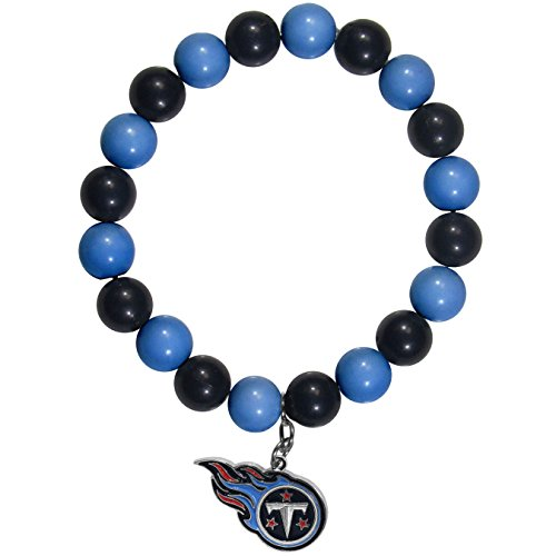 Siskiyou NFL Tennessee Titans Fan Bead Bracelet (Bracelets Titans Tennessee)