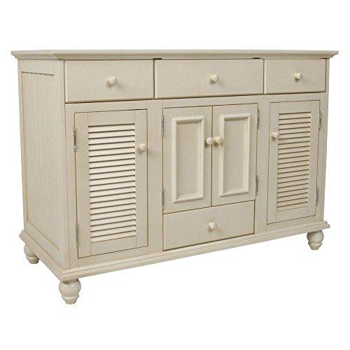 Pegasus CTAA4822D Cottage 48-Inch Vanity, Premium Antique White