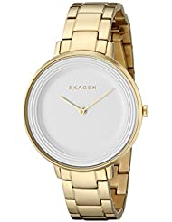 Skagen Womens SKW2330 Ditte Gold Link Watch