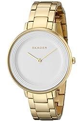 Skagen Women's SKW2330 Analog Display Analog Quartz Gold Watch