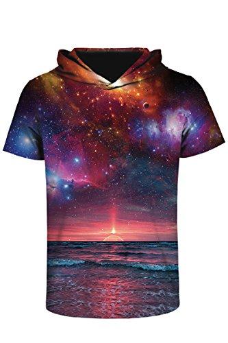 2016 Summer Fashion Men's Short Sleeve Printed T-shirts - 1