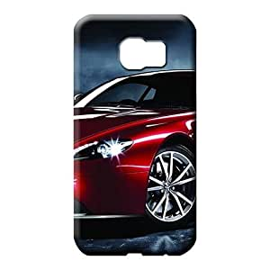 samsung galaxy S7 edge cell phone covers Shock Absorbent Abstact Perfect Design Aston martin Luxury car logo super