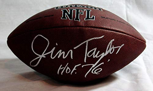 Jim Taylor Green Bay Packers Autographed Signed Autograph NFL Football JSA Authentic ()
