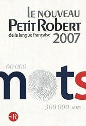 Le Nouveau Petit Robert : Dictionnaire alphabétique et analogique de la langue française