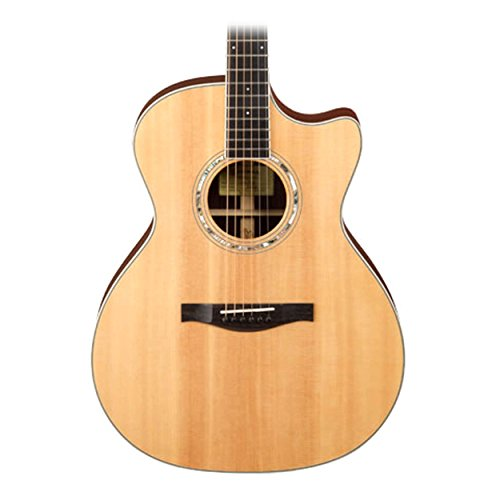 Eastman AC422CE Grand Auditorium Cutaway Acoustic-Electric Guitar ()
