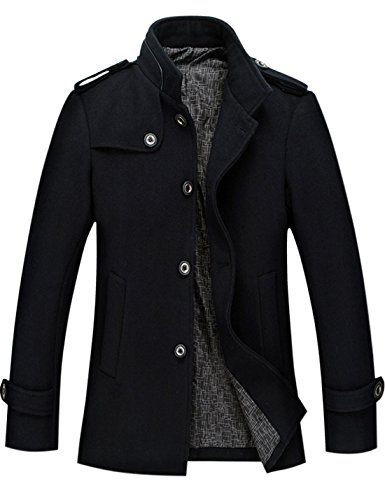 Slim Wool Coat - 2