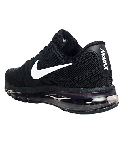 pretty nice 37feb 56160 Nike AIR MAX 2017 Mens Black Running Sports Shoes  Buy Online at Low Prices  in India - Amazon.in