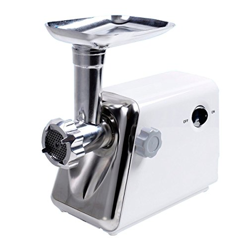 New 1300 Watt Electric Meat Grinder Industrial Kitchen Stainless Steel Cutting Blade