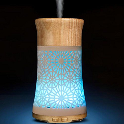 YRD TECH LED Aroma Diffuser Essential Oil Ultrasonic Air Humidifier Purifier Atomizer -
